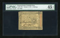 Colonial Notes:Pennsylvania, Pennsylvania October 1, 1773 5s PMG Choice Extremely Fine 45EPQ....
