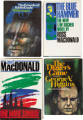 Books:First Editions, Lot of Four Modern Mystery Novels, One Signed.... (Total: 4 Items)