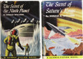 Books:First Editions, Donald A. Wollheim. Two Sci-Fi First Editions, including: TheSecret of Saturn's Rings; The Secret of the Ni... (Total: 2Items)