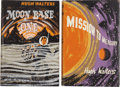 Books:First Editions, Hugh Walters. Two UK First Editions, including: Moon BaseOne; Mission to Mercury. London: Faber and Faber [...(Total: 2 Items)