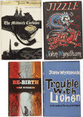 Books:First Editions, John Wyndham. Four Science-Fiction First Editions,... (Total: 4Items)