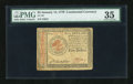 Colonial Notes:Continental Congress Issues, Continental Currency January 14, 1779 $5 PMG Choice Very Fine35....