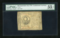 Colonial Notes:Continental Congress Issues, Continental Currency September 26, 1778 $30 PMG About Uncirculated55 EPQ....