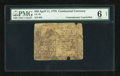 Colonial Notes:Continental Congress Issues, Continental Currency April 11, 1778 $40 PMG Good Net 6....