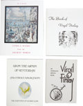 Books:First Editions, Four First-Edition Volumes of Science-Fiction Art,... (Total: 4Items)