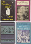 Books:First Editions, Four Arkham House First Editions. ... (Total: 4 Items)