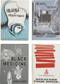 Books:First Editions, Four Arkham House First Editions.... (Total: 4 Items)