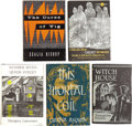 Books:First Editions, Five Arkham House First Editions by Women Writers.... (Total: 5Items)