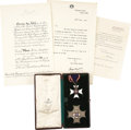 Autographs:Non-American, Insignia of the Knight Commander of the Royal Victorian Order,...