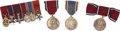 Autographs:Non-American, Six Mounted Miniature Orders and Medals of Sir Ralph Harwood,K.C.B., K.C.V.O., C.B.E.,... (Total: 9 Items)