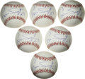 Autographs:Baseballs, Luis Tiant Single Signed Baseballs Lot of 6. A three-time All-Star,Luis Tiant was one of the great strike-out pitchers of ...