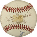 Autographs:Baseballs, Ted Williams, Stan Musial, and Stump Mitchell Signed Baseball . TheONL (White) baseball sports the signature of Stan Musia...