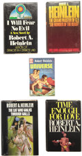 Books:First Editions, Robert A. Heinlein. Five First Editions, including: Time Enoughfor Love. New York: G. P. Putnam's Sons, [1973].... (Total: 5Items)