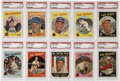 Baseball Cards:Lots, 1959 Topps Baseball PSA-Graded NM 7 Collection of 20. Twenty cardsfrom the 1959 Topps baseball set, all grading PSA NM 7. ...