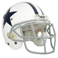 Football Collectibles:Helmets, 2005 Julius Jones Game Worn Throwback Helmet. One-half of the motor that drives the Dallas Cowboys potent ground game is rep...