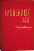 Books:First Editions, Ray Bradbury. Fahrenheit 451. New York: Ballantine Books,Inc. [1953]....