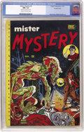 Golden Age (1938-1955):Horror, Mister Mystery #2 Double Cover (Aragon Magazines, Inc., 1951) CGCNM- 9.2 Cream to off-white pages....