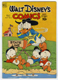 Golden Age (1938-1955):Cartoon Character, Walt Disney's Comics and Stories #104 (Dell, 1949) Condition:VF-....