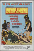 "Movie Posters:Adventure, Seven Slaves Against the World (Paramount, 1965). One Sheet (27"" X41""). Adventure...."