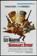 "Movie Posters:War, Sergeant Ryker (Universal, 1968). One Sheet (27"" X 41""). War...."