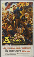 """Movie Posters:Western, The Alamo (United Artists, 1960). One Sheet (27"""" X 41""""). Western...."""