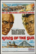 "Movie Posters:Adventure, Kings of the Sun (United Artists, 1963). One Sheet (27"" X 41"")Style B. Adventure...."