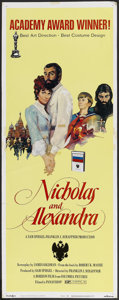 "Movie Posters:Historical Drama, Nicholas and Alexandra (Columbia, 1971). Insert (14"" X 36"").Historical Drama...."