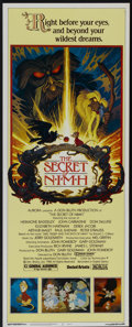 "Movie Posters:Animated, The Secret of NIMH (MGM/UA, 1982). Insert (14"" X 36""). Animated...."