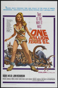 "Movie Posters:Adventure, One Million Years B.C. (20th Century Fox, 1966). One Sheet (27"" X41""). Adventure...."