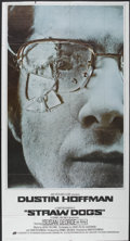 "Movie Posters:Crime, Straw Dogs (20th Century Fox, 1971). Three Sheet (41"" X 81"").Crime...."