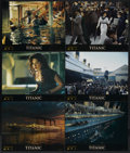 "Movie Posters:Academy Award Winner, Titanic (20th Century Fox, 1997). International Lobby Cards (6)(11"" X 14""). Academy Award Winner.... (Total: 6 Item)"
