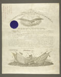 Military & Patriotic:Civil War, Ulysses S. Grant Signed Military Appointment....