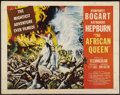 "Movie Posters:Adventure, The African Queen (United Artists, 1952). Half Sheet (22"" X 28"")Style A. Adventure...."