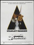 """Movie Posters:Science Fiction, A Clockwork Orange (Warner Brothers, 1971). French Grande (47"""" X 63""""). Science Fiction...."""