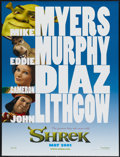 "Movie Posters:Animated, Shrek (DreamWorks, 2001). One Sheet (27"" X 40"") DS Advance.Animated...."