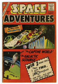 Space Adventures #33 (Charlton, 1960) Condition: VG