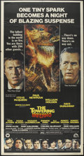 "Movie Posters:Action, The Towering Inferno (20th Century Fox, 1974). Three Sheet (41"" X81""). Action...."