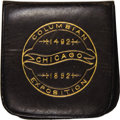 Expositions and Fairs, Uncertified 1892 Columbian Half Dollar, Leather Holder....