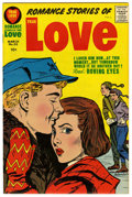 Silver Age (1956-1969):Romance, Romance Stories of True Love #50 File Copy (Harvey, 1958) Condition: NM-....