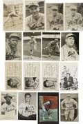 Autographs:Post Cards, Vintage St. Louis Cardinals Signed Postcards Lot of 31. Tremendousgroup of vintage St. Louis Cardinals signatures comes to...