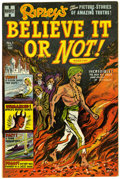 Golden Age (1938-1955):Non-Fiction, Ripley's Believe It or Not! #1 File Copy (Harvey, 1953) Condition:VF-....