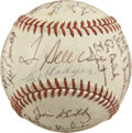 Autographs:Baseballs, 1970 New York Mets Team Signed Baseball. The 1969 Miracle Mets occupied an important spot in baseball history, elevating th...