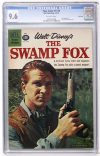 Four Color #1179 The Swamp Fox - File Copy (Dell, 1961) CGC NM+ 9.6 Off-white pages