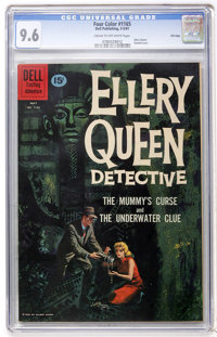 Four Color #1165 Ellery Queen Detective - File Copy (Dell, 1961) CGC NM+ 9.6 Cream to off-white pages