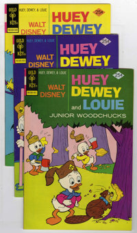 Huey, Dewey, and Louie Junior Woodchucks #30-59 and 61 File Copies Group (Gold Key/Whitman, 1975-80) Condition: Average...
