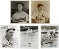 Autographs:Photos, St. Louis Cardinals Signed Photographs Lot of 5. Great quintet ofphotographs signed by vintage members of the St. Louis Ca...