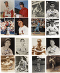 """Autographs:Photos, St. Louis Cardinals Signed Photographs Lot of 32. Large collectionof 32 signed 8x10""""s comes from several former stars of t..."""