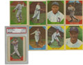 Baseball Cards:Sets, 1960 Fleer Baseball Greats Complete Set (79). Offered is a 1960 Fleer Complete Baseball Set in overall low to mid grade. Th...