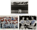 "Autographs:Photos, St. Louis Cardinals Greats Multi-Signed Photographs Lot of 3. Eachof the three 8x10"" photographs that we present here hav..."