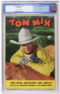 Golden Age (1938-1955):Western, Tom Mix Western #1 (Fawcett, 1948) CGC NM 9.4 Off-white to whitepages....